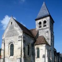L'église vue du nord-est (1995)