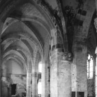 Le bas-côté sud de la nef vu vers le sud-ouest (1996)