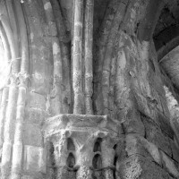 Retombées de la voûte de la chapelle sud (1996)