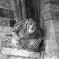 Cul-de-lampe de la chapelle sud (1996)