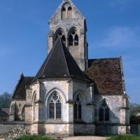 L'église vue de l'est (1996)