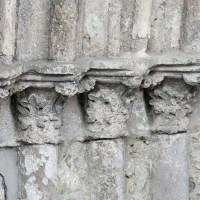 Chapiteaux des piédroits de gauche du portail ouest (2016)