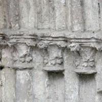 Chapiteaux des piédroits de droite du portail ouest (2016)