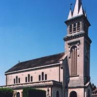 L'église vue du sud-est (2006)