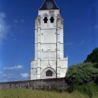 Le clocher-porche vu de l'ouest (2003)
