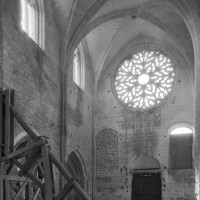 La nef vue vers le sud-ouest (1979)
