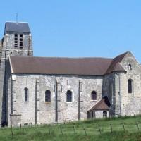 L'église vue du sud (1996)