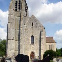 L'église vue de l'ouest (2019)