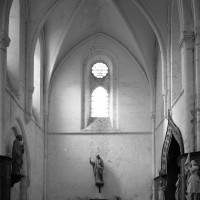 Le bras nord du transept vu vers le nord