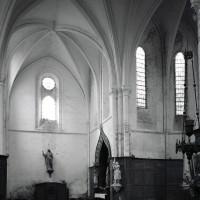 Le bras nord du transept et une partie du choeur vus vers le nord