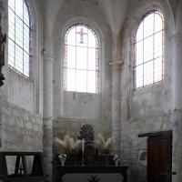 L'abside vue vers l'est (2019)