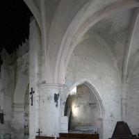 Vue partielle du bras nord du transept vers le nord-ouest (2019)