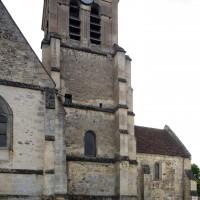 Vue partielle de l'église depuis le nord-est (2019)