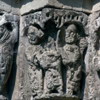 Chapiteau d'un piédroit de gauche du portail (1996)