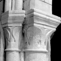 Chapiteaux de la retombée sud de l'arc triomphal du choeur (1994)