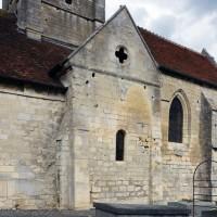 Vue partielle de l'église depuis le sud-ouest (2015)