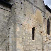 Le bras sud du transept du 12ème siècle vu du sud-ouest (2015)