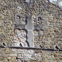 Croix du pignon de la façade ouest (1972)