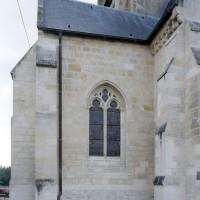Vue partielle de la chapelle sud depuis le sud-est (2008)