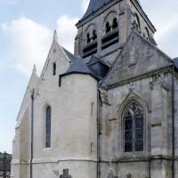 Vue partielle de l'église depuis le nord-ouest (2008)