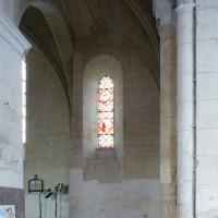 La chapelle nord du choeur vue vers le nord (2008)