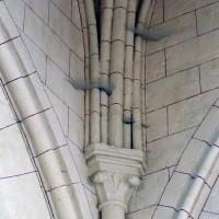 Retombées de la voûte de la base du clocher (2008)