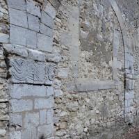 Arcade du mur gouttereau sud de la nef vue du sud-ouest (2008)