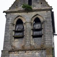 L'étage du beffroi du clocher vu du sud (2017)