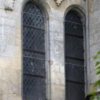 Fenêtre de l'abside de la chapelle sud (2017)