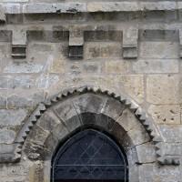 Détails de l'abside de la chapelle sud (2017)