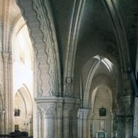 Le bas-côté nord vu vers le sud-ouest (1996)