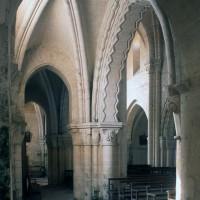 Le bas-côté sud vu vers le nord-ouest (1996)