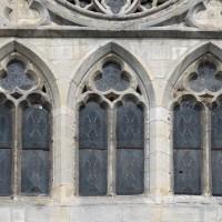 Fenêtres du bras sud du transept (2015)