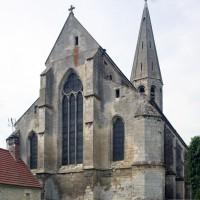 L'église vue du nord-est (2015)