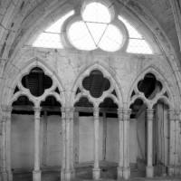 Fenêtre-triforium au mur gouttereau nord du choeur