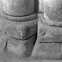 Bases du bras nord du transept (1995)
