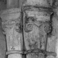 Chapiteaux du bas-côté nord de la nef (1995)