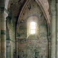Le bras nord du transept vu vers le nord (1995)