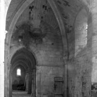 Le bras nord du transept vu vers le nord-ouest (1995)