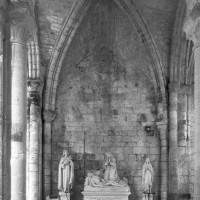 Le bras sud du transept vu vers le sud (1995)