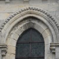 Détails d'une fenêtre du bas-côté sud du choeur (2015)