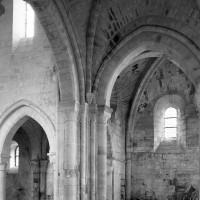 Vue partielle du transept vers le nord-ouest