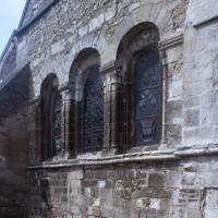 Le mur de chevet vu du nord-est (1997)
