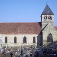 L'église vue du sud (1972)