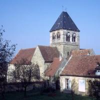 L'église vue du sud-est (1972)