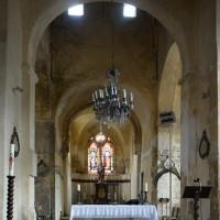La croisée du transept et le choeur vus vers l'est (2015)