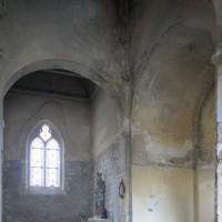 Vue partielle du transept et du choeur vers le nord-est (2015)