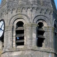 L'étage du beffroi du clocher vu du sud-ouest (1997)