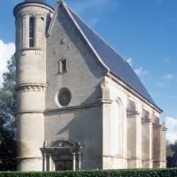 La chapelle vue du sud-ouest (1996)