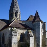 Vue partielle de l'église depuis le sud (2017)